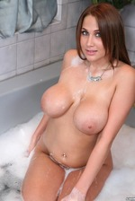 Alanah Rae Washes Her Big Boobs 12