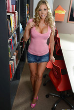 Adorable Schoolgirl Samantha Saint 01