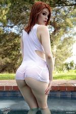 Sexy Redhead Bree Daniels 06