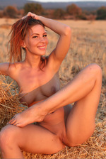 Beautiful Galina Outdoors 03