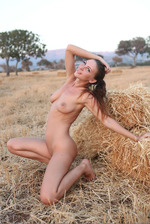 Beautiful Galina Outdoors 14