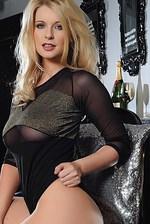 Jess Davies In Sexy Bodysuit 02