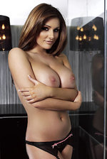 Lucy Pinder Posing Topless  13