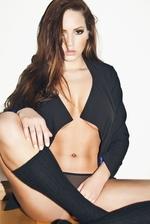 Sabine Jemeljanova In Sexy Lingerie 01