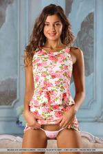 Brunette Beauty Melena Tara Stripping 08