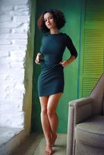 Supersexy Pammie Lee Sreip Off Her Green Dress 01