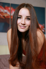 beautiful brunette Stefany Sonri 02
