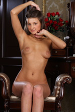 Tanned beauty Melena A looks stunningly cute 03