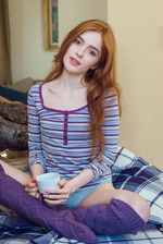 Russian redhead Jia Lissa knows she's sexy 00