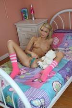 Dakota Skye Strips On Her Bed 11