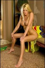 Ann Poll Green Bikini 13