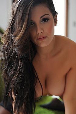 Busty Brunette Ivy Nedkova