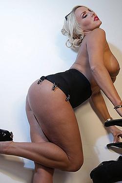 Dannii Harwood Stripping