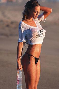 Charlie Riina On The Beach