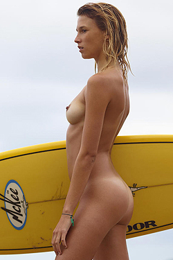 Patti The Naked Surfer