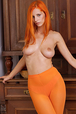 Ariel Piper Fawn Strips Naked