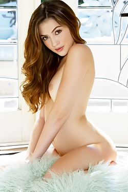 Cassie Laine Showing Soft Breasts
