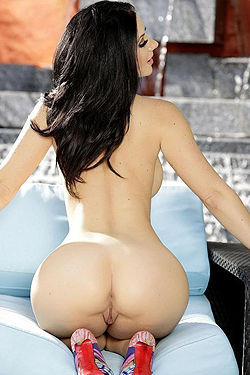 Jayden Jaymes Swimsuit By The Pool