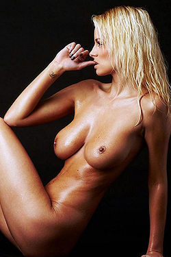 Rhian Sugden Showing Off Her Nude Body