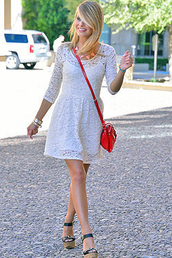 Sassy Blonde Lauren Clare