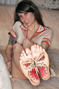 Misty Gates Sexy Foot Fetish Chick