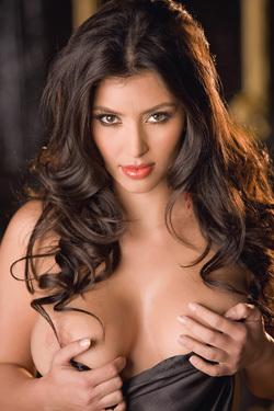 Kim Kardashian Strips For Playboy