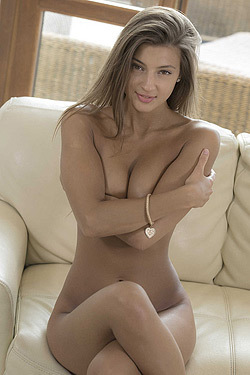Russian Tanned Beauty Maria