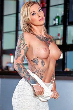 Hot Tattooed Babe Kleio Valentien