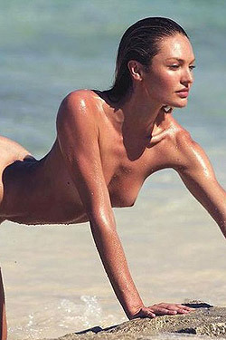 Candice Swanepoel Poses Totally Naked