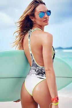 Hot Famous Celebrity Candice Swanepoel
