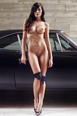 Tereza - Muscle Car Girl