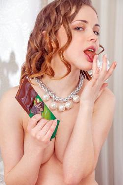 Catherine Loves Chocolate