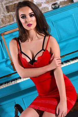 Lauren Strips Off Her Sexy Dress