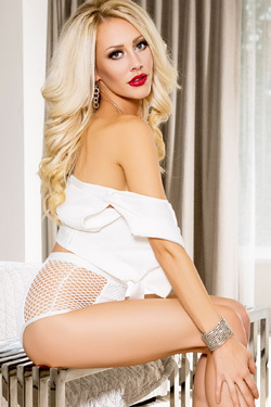 Cybergirl Shannon Troy Posing In White Set