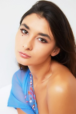 Stunning Russian brunette Bambi Joli