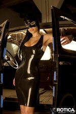 Viorotica In Sexy Latex Suit 00