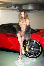 Katya Clover And The Ferrari 01
