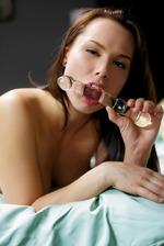 Aidra Fox Enjoy Her Glass Dildo 14